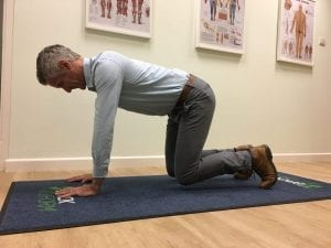 Core exercise for Transversus Abdominus