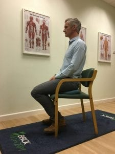 Seated Core Exercise
