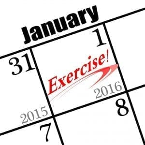 2016 new years resolution is to exercise!